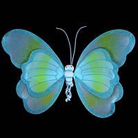 Крылышки Бабочки, голубые огромные