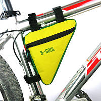 Сумка треугольная на раму велосипеда, Желтый