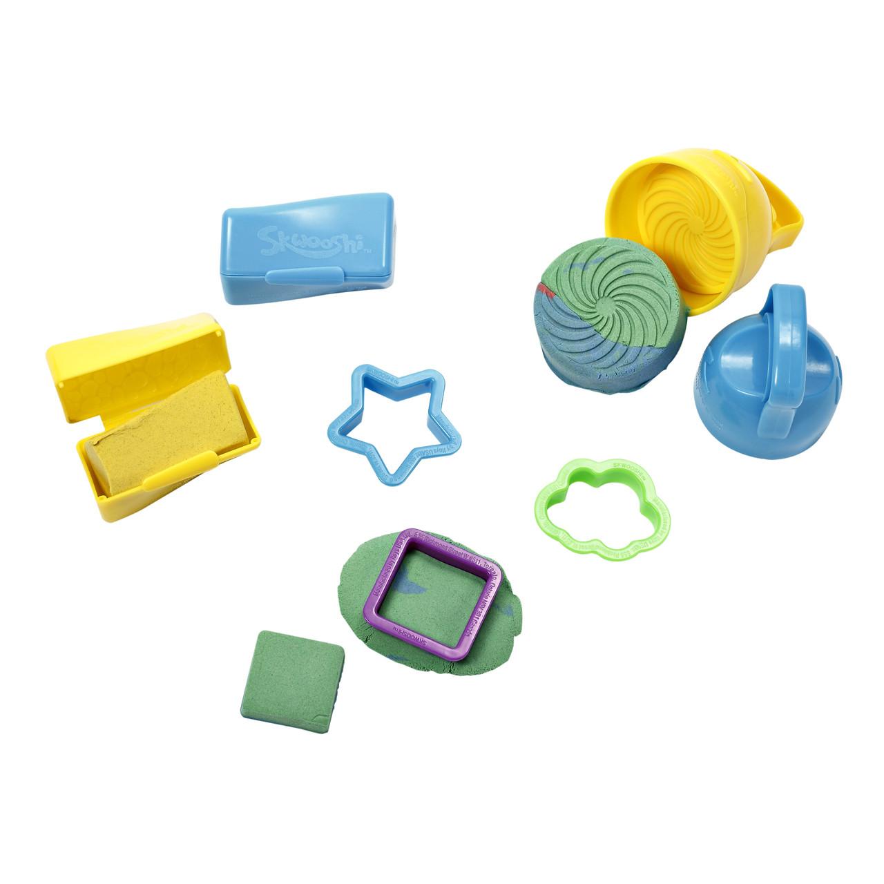 Творчество и рукоделие «Irwin Toy» (30008) набор для лепки «Skwooshi» со смешивателем цветов