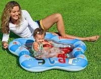 Детский надувной бассейн на возраст 1-3 года