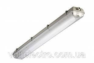 Светильник 2х18Вт Lumen-Lemanso під LED IP65 (аналог 2х36)