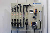 Станция дозирования товарного гипохлорита натрия
