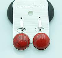 Маленькие серьги из натуральных камней для милых девушек от Бижутерии RRR в Украине. 2206
