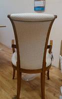 Обивка мягких  стульев со спинкой