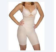 Шорты корректирующие с завышенной талией Slimming shorts, телесный