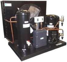 Среднетемпературный холодильный агрегат TECUMSEH AEZ 4440 ZHR