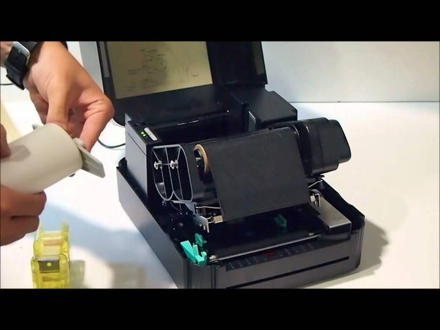 Термотрансферный принтер этикеток.