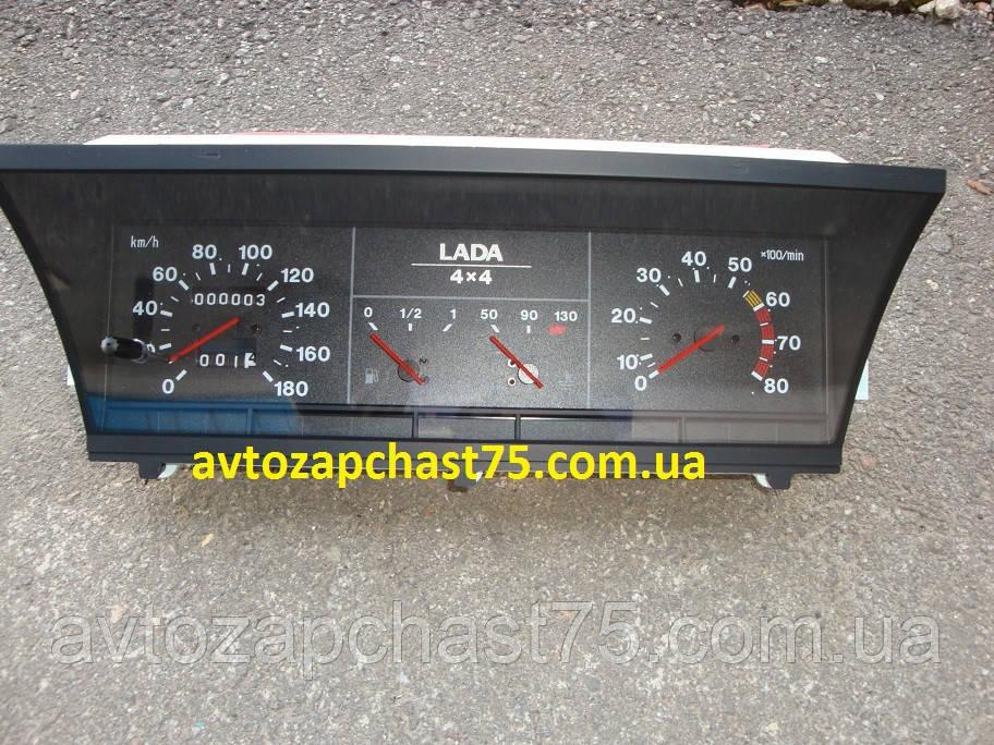 Комбинация приборов ВАЗ 21213, 21214 (производитель город Владимир, Россия)