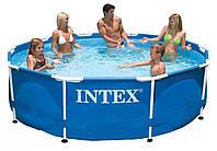 Каркасный бассейн круглый Intex 28200 (56997) Metal Frame Pool (305х76)