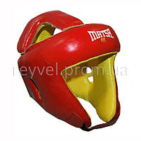 Шлем боксерский MATSA кожа