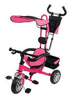 Велосипед 3-х колесный VT 1415 розовый