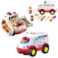 Игрушка Huile Toys Скорая помощь 836