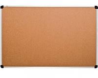 Доска для объявлений пробковая в раме S-line 90х120 (139012)