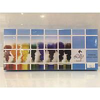 Набор акриловых красок 12 цветов (15 мл) для китайской росписи