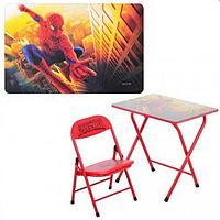Детский складной столик DT 18-12 Человек-паук со стульчиком