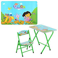 Детский столик-парта DT 19-12 Даша, со стульчиком