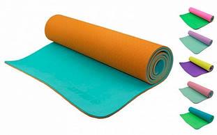Килимки для йоги, фітнесу і пілатесу