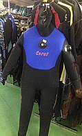 Сухой гидрокостюм для дайвинга SigmaSub Коралл; неопрен 6 мм; с сапогами, фото 1