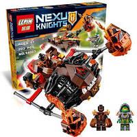 Nexo Knights конструктор 14003: 2 фигурки, книга, метательное оружие, подвижные части, 203 детали