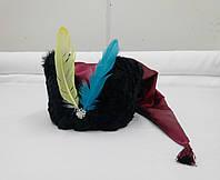 Гетманская шапка с перьями