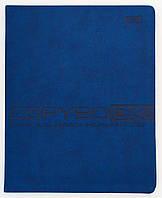 Тетрадь для записи иностранных слов PU, синяя 150957