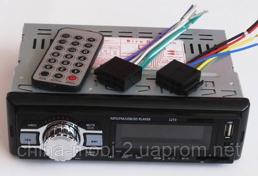 Автомагнитола Pioneer 1273 MP3 SD USB AUX FM , фото 2