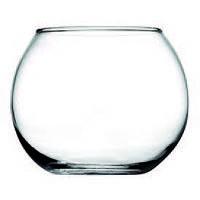 Стеклянная ваза шар pasabahce 43407 flora 7,9 см