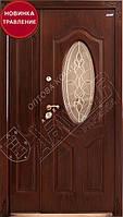 """Двери """"АБВЕР"""" 1200 травление - модель 2023 Изумруд, фото 1"""