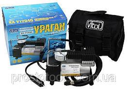 Поршневой компрессор автомобильный Vitol Ураган КА-У12040