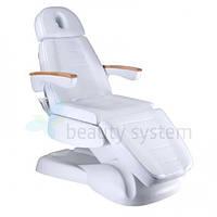 Электрическое косметическое кресло LUX BW-273B белое