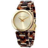 Часы Michael Kors Delray Gold Dial Tortoise Acetate MK4314