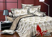 Полуторное постельное белье,  с компаньоном,  сатин люкс хлопок, S029