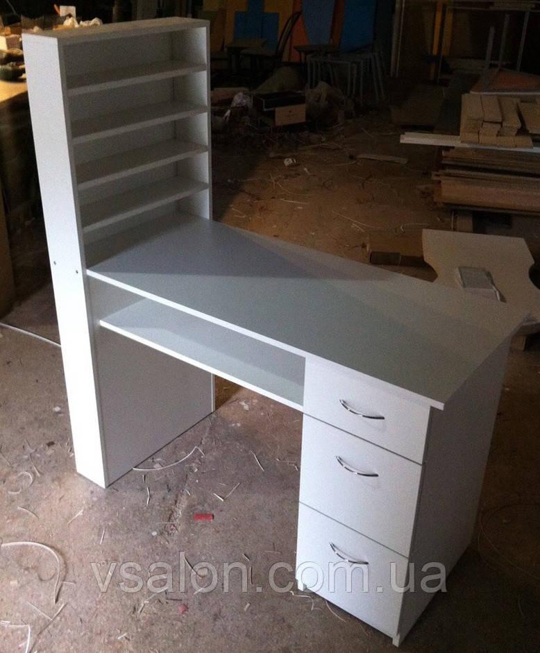 Столик для манікюру з відкритою нішею під стільницею V60