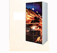 Шкаф 2D Мульти Гонки (Світ Меблів ТМ)