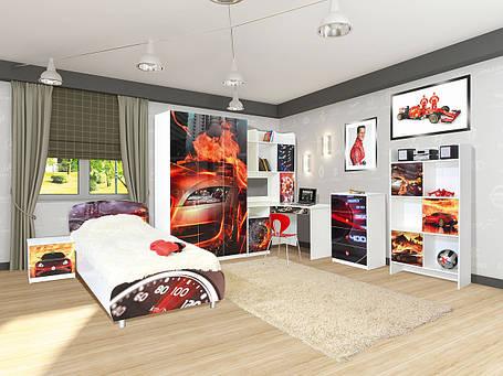 Детская спальня Мульти Гонки (Світ Меблів ТМ), фото 2