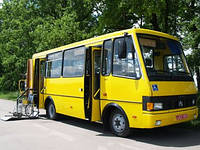 Автобус БАЗ А079.46 (для людей з особливими потребами)