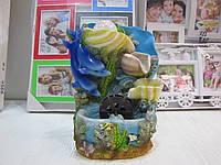 Декоративный водопад с дельфинами. Артикул GL-1231