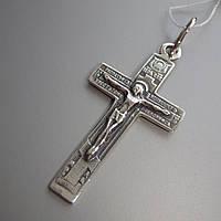 Серебряный крест с распятием, 3 грамма
