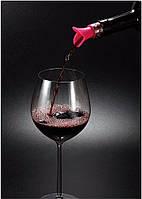 """Оригинальная пробка для бутылки """"Lily wine"""" с дозатором (насадка на бутылку)"""