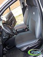 Автомобильные чехлы Виртус Citroen Jumpy 2004-2006, перед 1+2