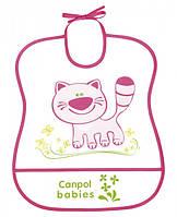 Слюнявчик пластиковый мягкий Canpol Babies - 2/919