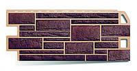 Фасадные панели/Цокольный сайдинг панельный Жженый