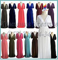 Платье - Кимоно в пол под заказ (от 50 шт.)