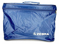 Сумка Zebra_ткн 2720 синий синяя
