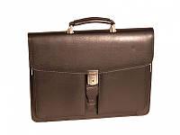 Портфели Wallaby 535 черный кож/зам 3 отд.2 передн карм (40х31х8)
