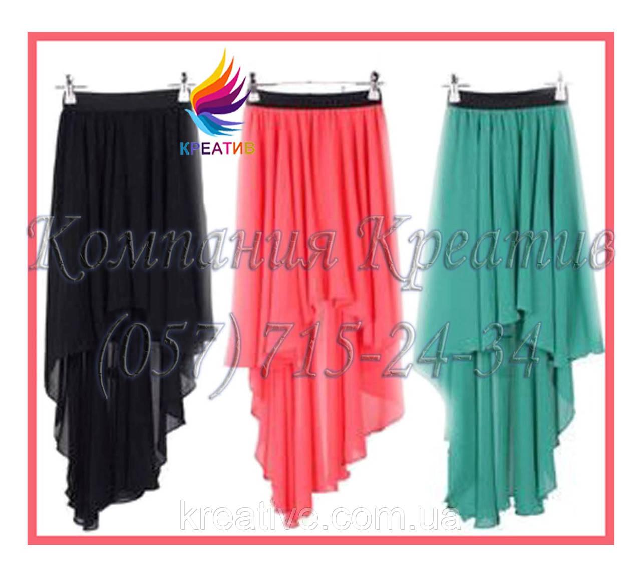 Асимметричные юбки для промо акций (под заказ от 50 шт.)