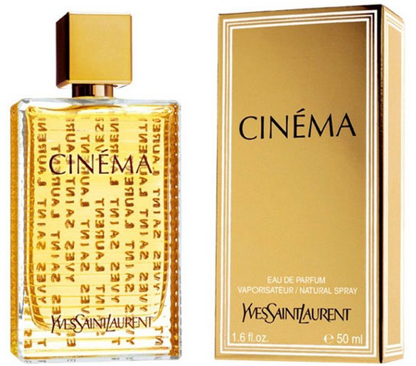 Женская парфюмированная вода оригинал Yves Saint Laurent CINEMA 50 ml NNR ORGAP /06-94