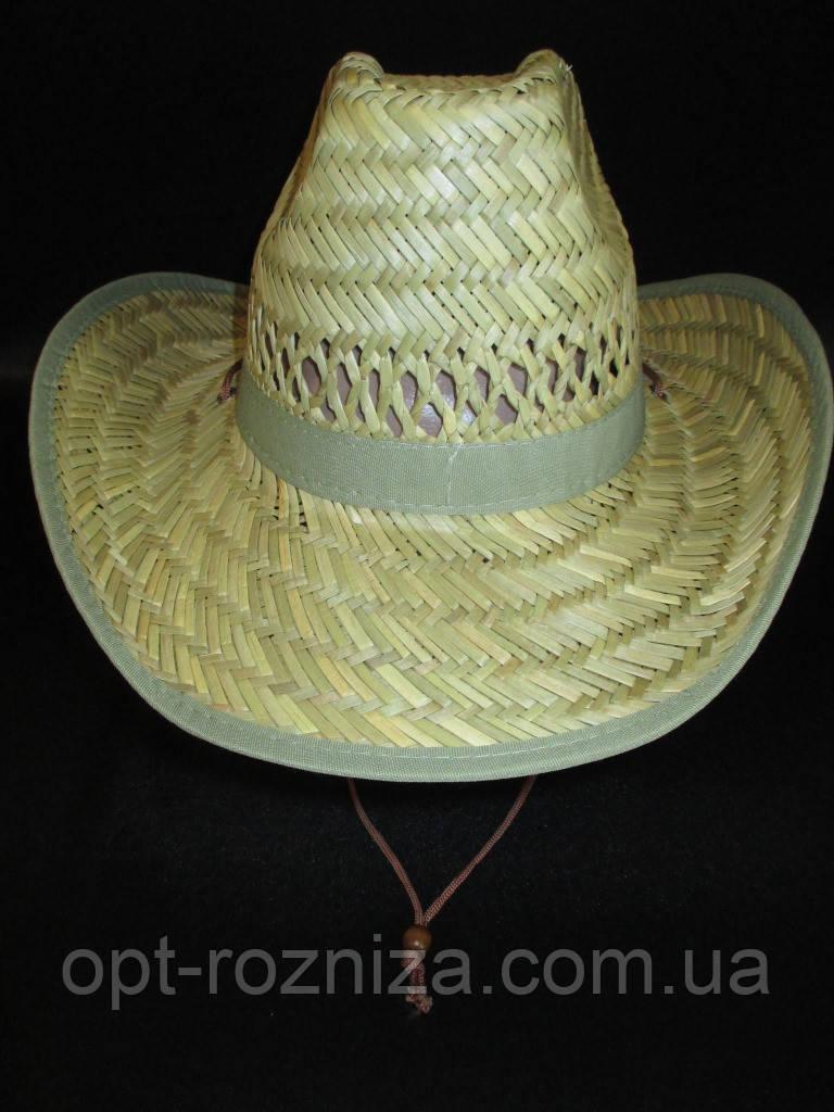 Соломенная шляпа на лето для мужчин