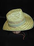 Соломенная шляпа на лето для мужчин, фото 2