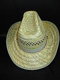 Соломенная шляпа на лето для мужчин, фото 4
